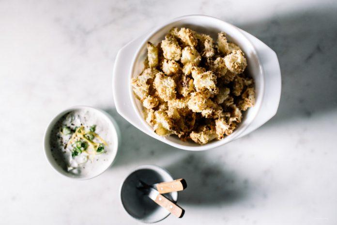 Cavolfiore Di Popcorn Al Forno Croccante