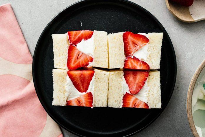Ricetta Strawberry Sando