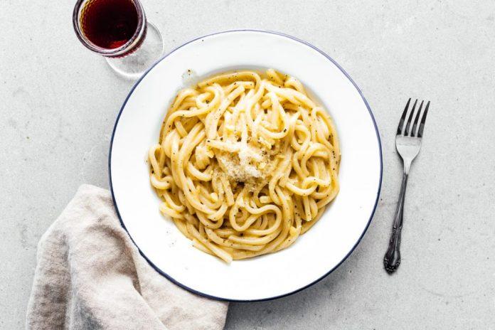 Ingredienti Ricetta Cacio e Pepe Udon