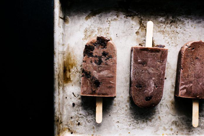 Brownie fatti in casa Fudgesicle Pops