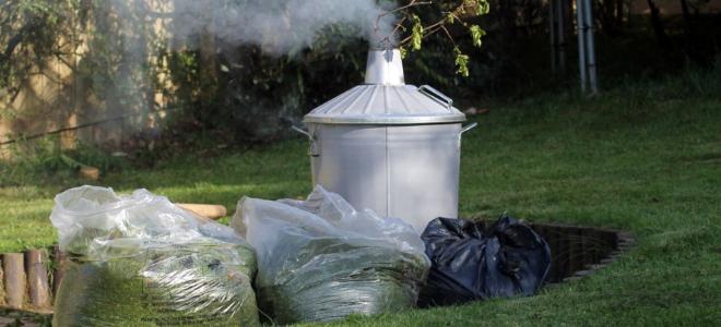 Come usare un inceneritore da giardino