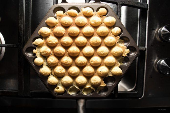 Hong Kong Bubble Waffle Ricetta