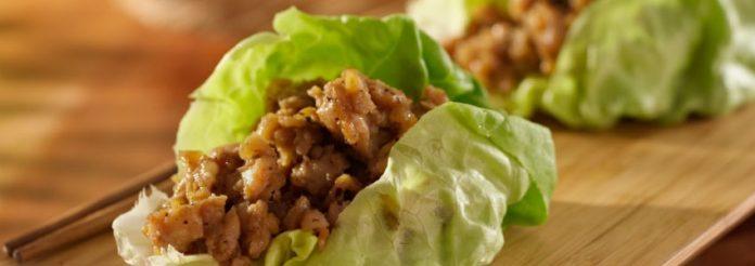 Navigazione fluida salutare e semplice Turchia Taco Lettuce Boats