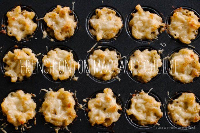 Ricetta Mini French Onion Mac and Cheese