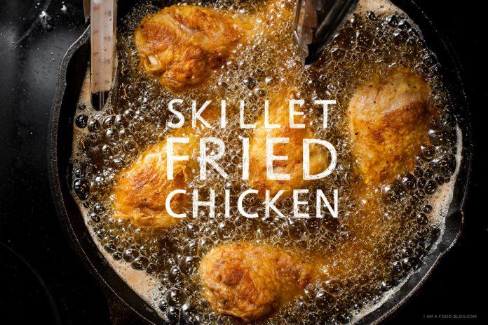 Ricetta di pollo fritto padella
