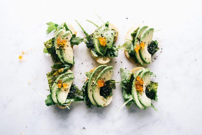 Toast di avocado ispirato al giapponese