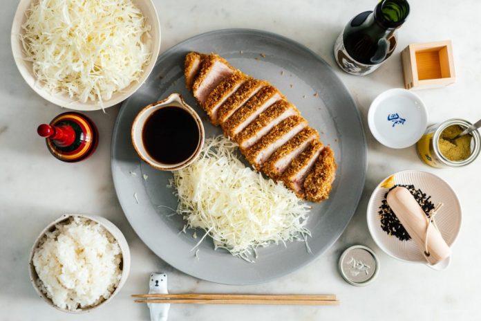 Tonkatsu di maiale al forno facile da forno