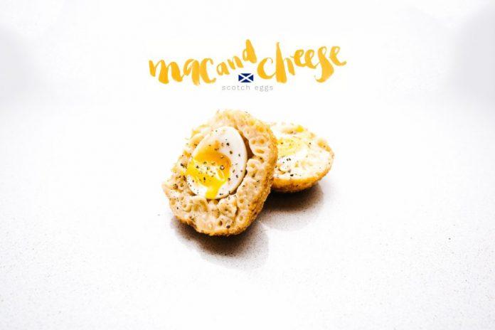 Uova scozzesi Mac e formaggio