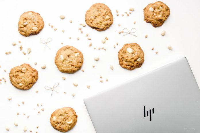 Biscotti alla noce di macadamia caramello