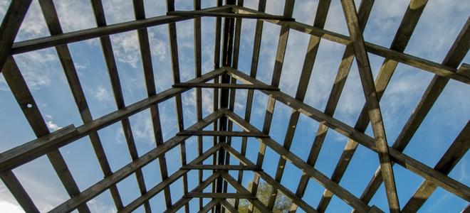 Building a Garage Roof Framing