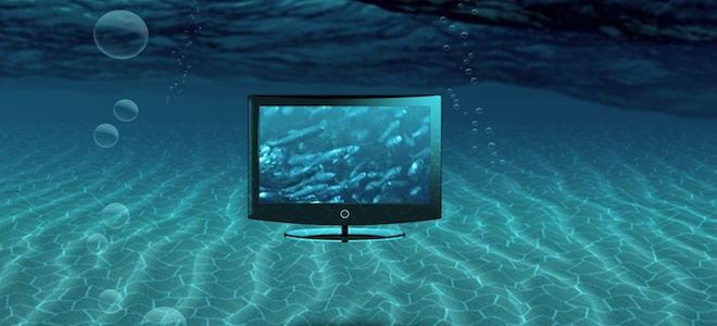 Come riparare un televisore con danni causati dallacqua