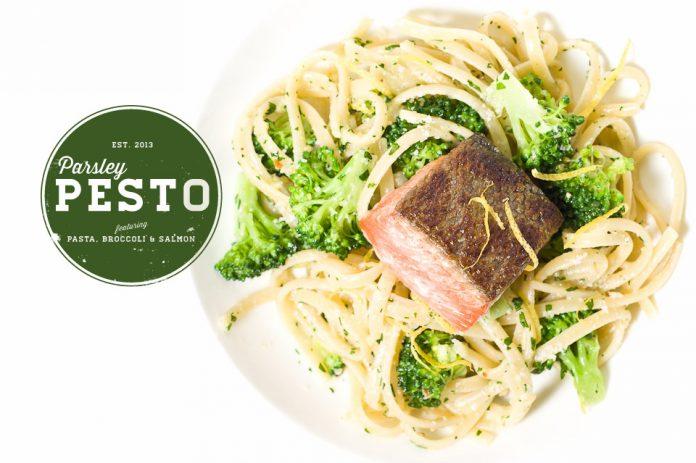 Pesto Di Prezzemolo Con Broccoli E Salmone Ricetta