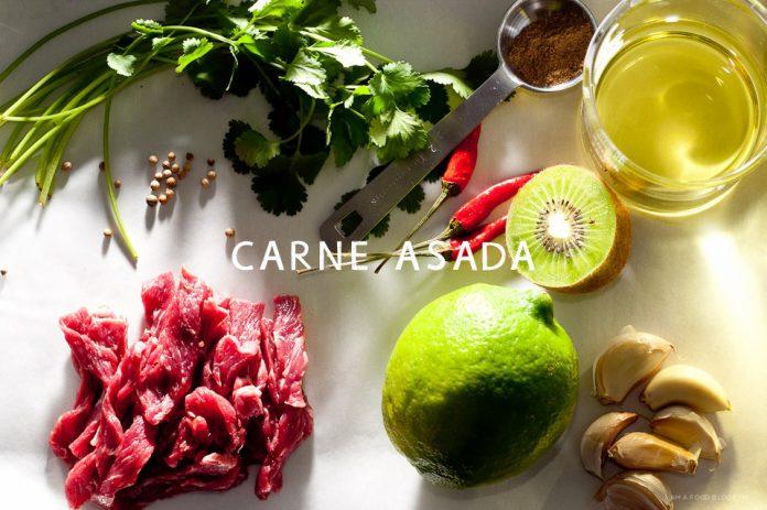 Ricetta Asada di Carne Flat Iron