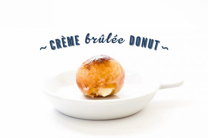 Ricetta Crème Brûlée Donut