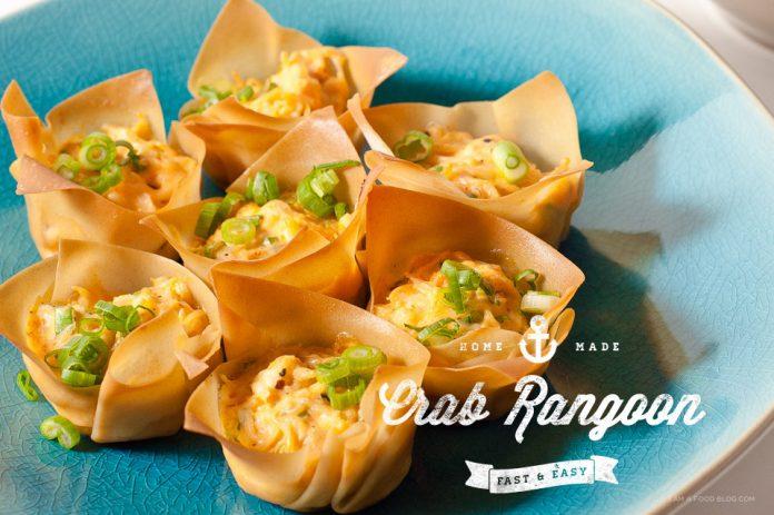 Ricetta Crab Rangoon