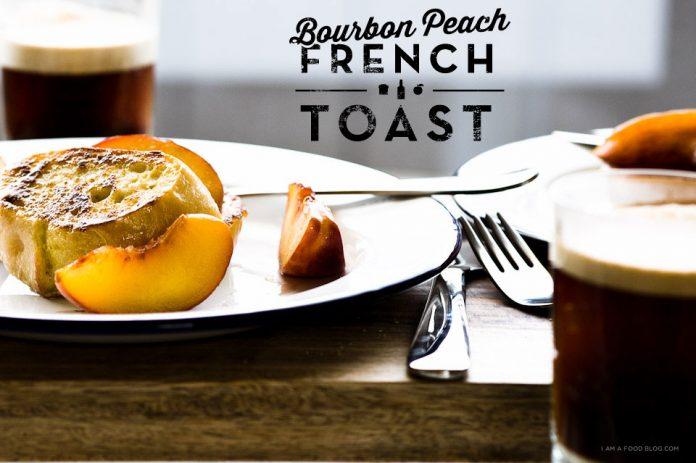 Ricetta French Toast Bourbon Peach