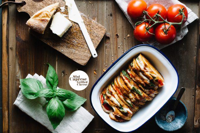 Ricetta Sandwich Capretto Grigliato Mini Caprese