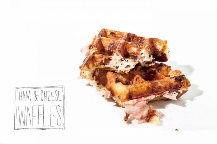 Ricetta Waffle prosciutto e formaggio