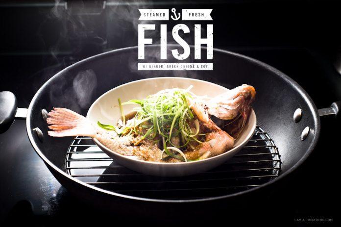 Ricetta cinese di pesce al vapore