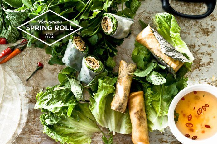 Ricetta vietnamita per involtini primavera