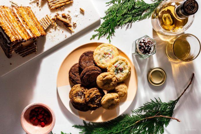Snickerdoodle gocce di cioccolato zucchero e zenzero