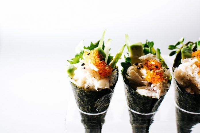 Mini California Sushi Cones