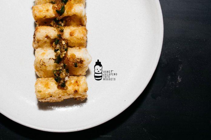 Pepite di tofu al jalapeno al miele