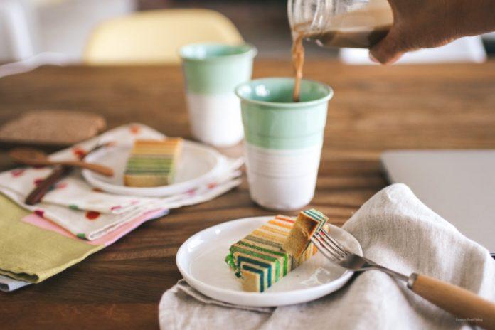 Rainbow Cake Malaysian Edition Kek Lapis
