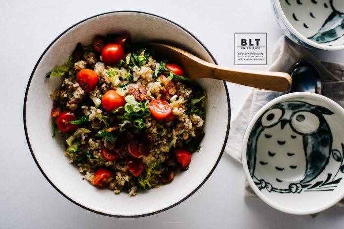 Ricetta BLT di riso fritto