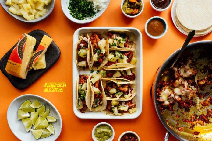 Ricetta Cheesy Tacos Al Pastor