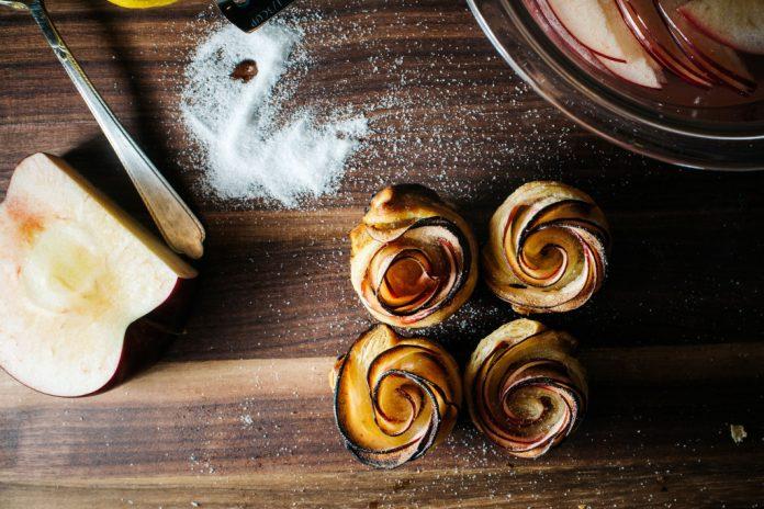 Ricetta Mini Rose Pasta Sfoglia Mela