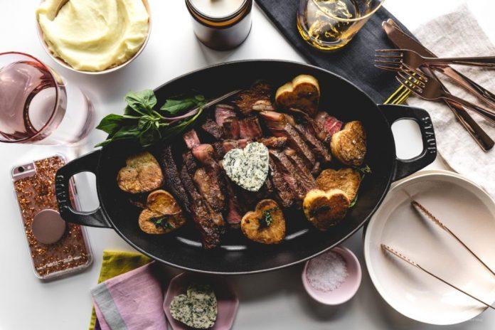 Ricetta Sous Vide Rib Eye Steak semplice con burro composto