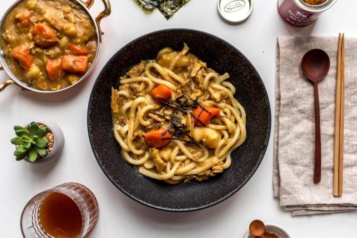 Ricetta Udon di tacchino al curry