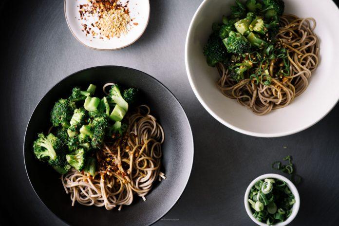 Ricetta ciotola di broccoli Soba