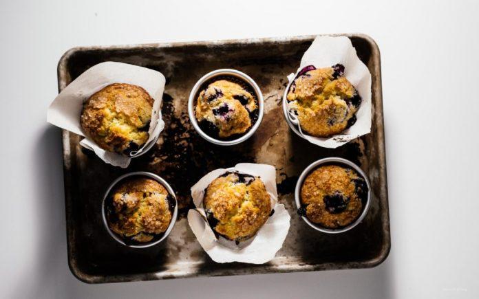 Ricetta dei muffin ai mirtilli di Jordan Marsh