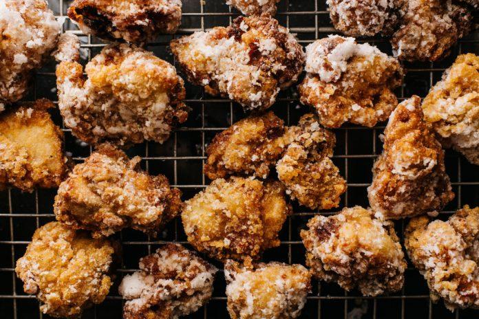 Ricetta giapponese di pollo fritto