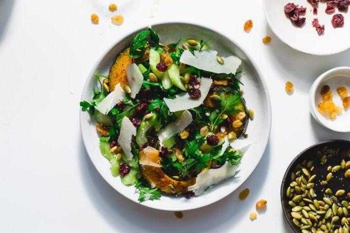 Ricetta insalata di sedano Kabocha