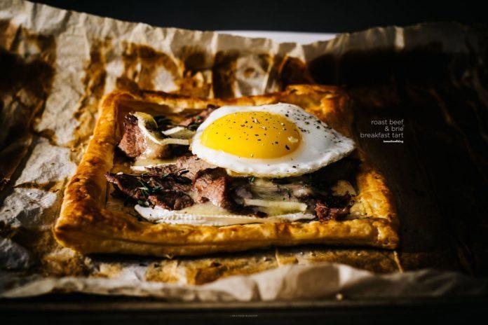 Ricetta per crostate da colazione con pasta sfoglia di brie