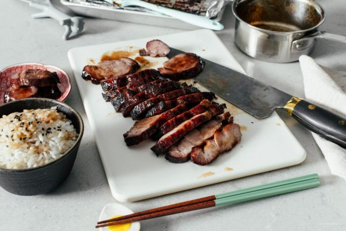 Una ricetta cinese veramente facile del maiale del maiale del