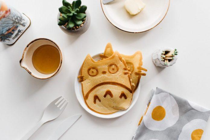 Easy Totoro Pancake Art