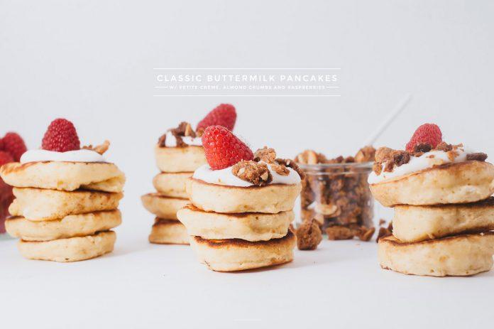 Ricetta Pancake Crumble Al Lampone