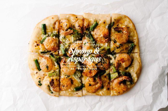 Ricetta Pizza Di Asparagi Gamberetti