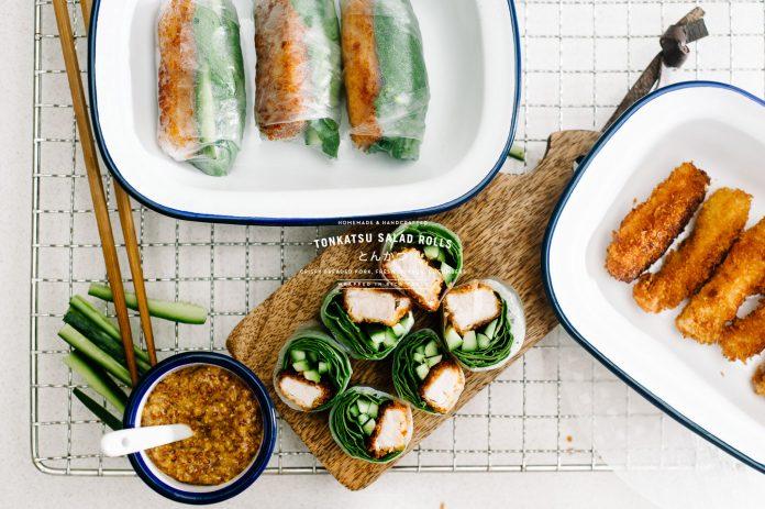 Ricetta Tonkatsu Salad Roll a Giveaway