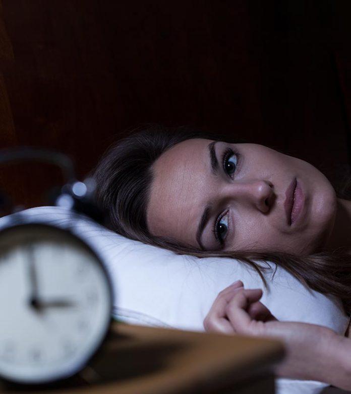 Come dire che hai un disturbo del sonno
