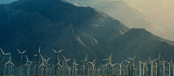 Potenza da un fornitore di energia eolica
