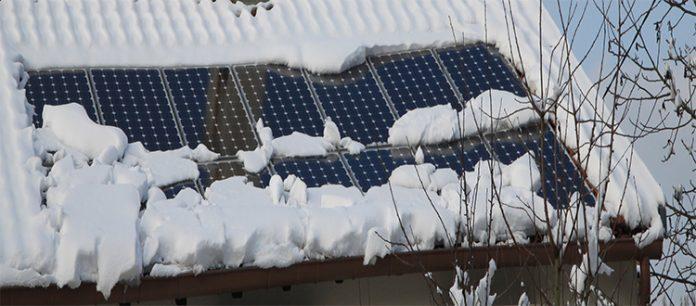 Utilizzando lenergia solare in inverno