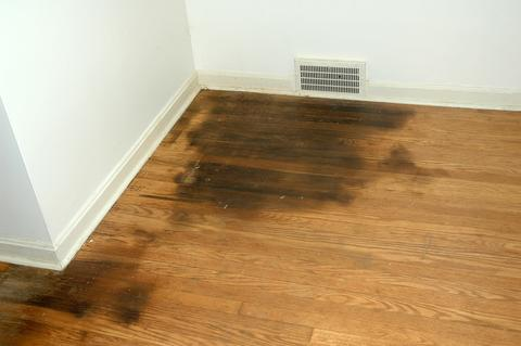 Come rimuovere le macchie nere dai pavimenti in legno